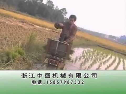 เครื่องมือการเกษตร รถดำนาแบบประหยัด ไม่ใช้น้ำมัน ได้ประโยชน์สูง
