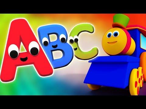 Bob Train alfabeto Aventura | Saiba alfabetos com Bob | Vídeo educativo para crianças