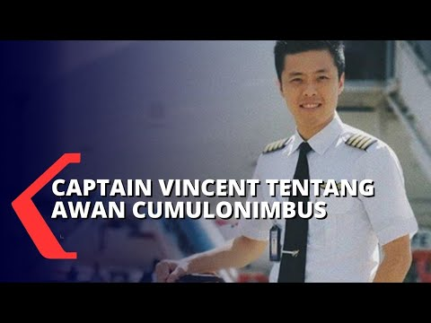 Penjelasan Captain Vincent Raditya Tentang Awan Cumulonimbus