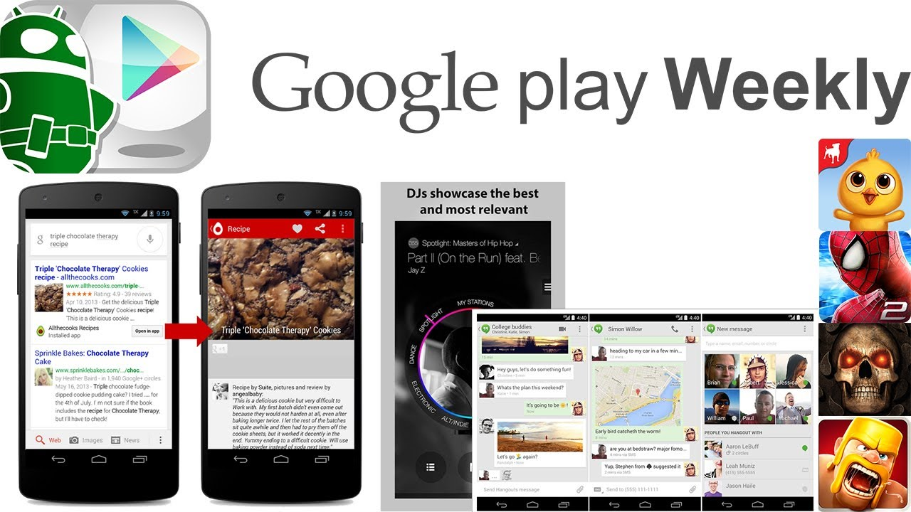 Baldur's Gate for Android, Google Hangouts update, ads, ads, and more ads! – Google Play Weekly