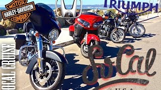 8. SoCal Cruise - Honda Goldwing F6B, Harley-Davidson Street Glide, Triumph Bonneville T100