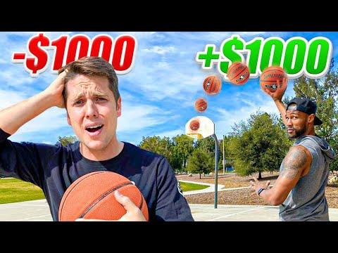 MAKE THE TRICKSHOT = WIN $1,000 vs Chris Staples