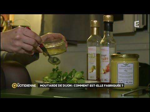 Moutarde de Dijon, comment est-elle fabriquée ?
