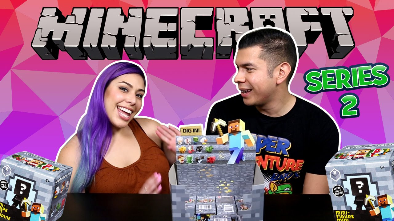 MOAR Minecraft Blind Boxes Series 2!
