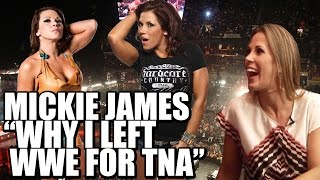Nonton Why Did Mickie James Leave Wwe And Join Tna  Film Subtitle Indonesia Streaming Movie Download