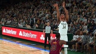 NBA 2K18 Giannis Antetokounmpo Jumpshot FIX