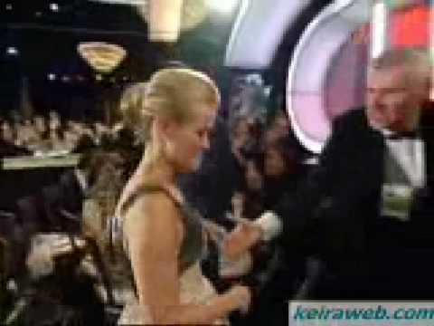 Keira Knightley on Golden Globes