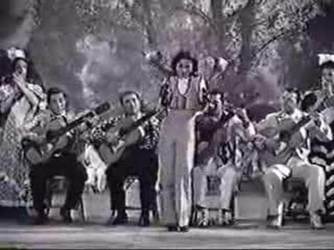 Кармен Амайя (Carmen Amaya) - фламенко, алегриас