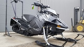 10. 2019 Arctic Cat XF8000 HIGH COUNTRY FIRST START
