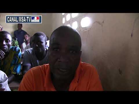 Interview de Coulibaly parent d'élève enquête du site des déguerpis d'Adjoufou inconnu