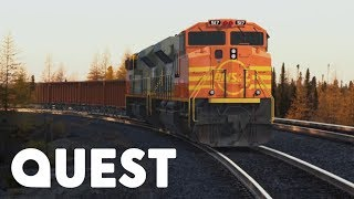 Video The Mega Freight Train Is On The Move!   Rise Of The Machines MP3, 3GP, MP4, WEBM, AVI, FLV Desember 2018