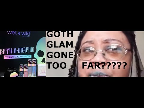 has goth glam hit it's saturation point!?!?!?!?!?!?!