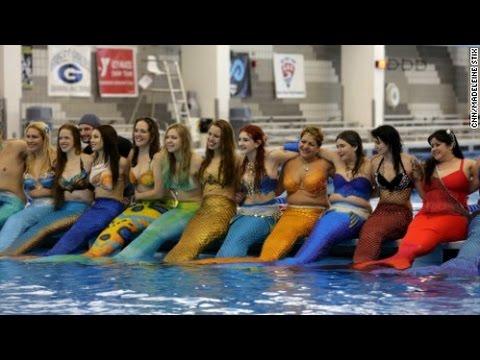 Mermania 2016 at the Greensboro Aquatic Center in North Carolina: Part 1