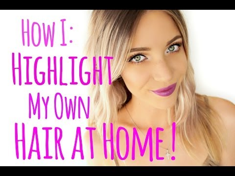 How to Highlight your Hair at Home! | Stephanie Lange