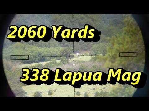 Shooting 2060 Yards! 1.17 miles Savage 110 BA 338 Lapua