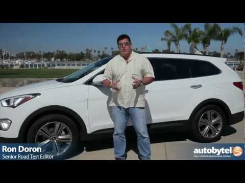 2013 Hyundai Santa Fe Test Drive & SUV Video Review