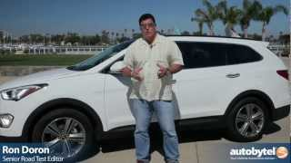 2013 Hyundai Santa Fe Test Drive&SUV Video Review