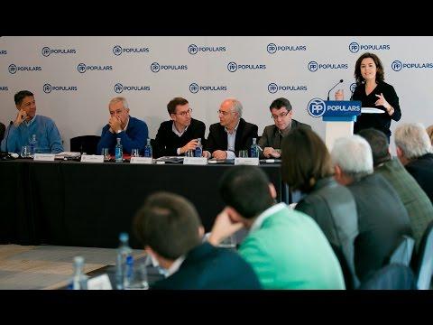 """Sáenz de Santamaría: """"El PP en Cataluña representa nuestro absoluto compromiso con España"""