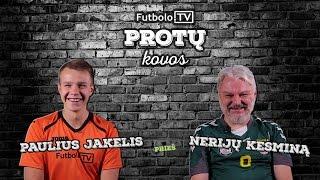 Video Futbolo.TV protų kovos: P.Jakelis vs N.Kesminas MP3, 3GP, MP4, WEBM, AVI, FLV September 2019