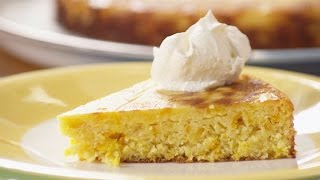 Torta de naranja y almendras sin harina