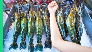 Video RECORD BREAKING THAI PRAWNS!!! The ULTIMATE Thai Seafood Experience in Bangkok, Thailand! MP3, 3GP, MP4, WEBM, AVI, FLV Juli 2019