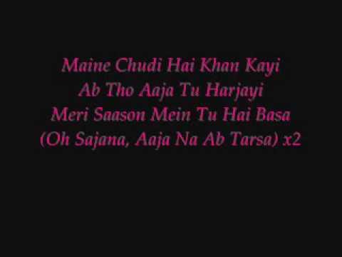 Video Maine Payal Hai Chankai - With Lyrics download in MP3, 3GP, MP4, WEBM, AVI, FLV January 2017