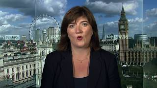 "The Chair of the Treasury Select Committee Nicky Morgan tells Sky's Ian King that Theresa May ""was right"" to issue a harsh warning to her cabinet to keep conversations private following a series of leaks. On Brexit, she said those who voted to leave the EU were ""being listened to more"" than those who voted remain and it's the government's job to represent the interests of the whole of Britain in Brussels talks.SUBSCRIBE to our YouTube channel for more videos: http://www.youtube.com/skynewsFollow us on Twitter: https://twitter.com/skynews and https://twitter.com/skynewsbreakLike us on Facebook: https://www.facebook.com/skynewsFor more content go to http://news.sky.com and download our apps:iPad https://itunes.apple.com/gb/app/Sky-News-for-iPad/id422583124iPhone https://itunes.apple.com/gb/app/sky-news/id316391924?mt=8Android https://play.google.com/store/apps/details?id=com.bskyb.skynews.android&hl=en_GB"