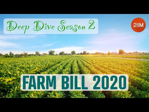 DeepDive -Season 2 | Farm Bill 2020 | Current Affairs | IIM Interview Preparation | GDPI Prep | 2IIM