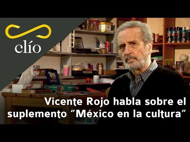 Vicente Rojo habla sobre el suplemento