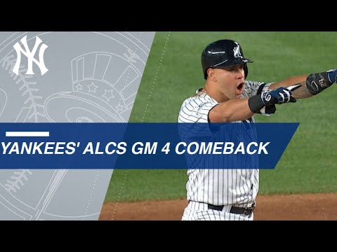 Watch the Yankees take a lead in the 8th inning of Game 4 of the ALCS