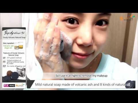 TIA story Snody Volcanic Ash Natural Soap+ Mask 1ea(Random)