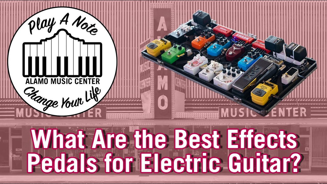 What Are the Best Effects for Electric Guitar? The Greatest Effect of All Time!