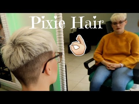 Short haircuts - PIXIE CUT in Gents Barbers! Hair by Alana - S3 EP179