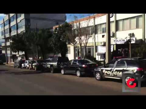 Policia Civil de Carazinho faz Sirenaço em Homenagem a colega morto em serviço em Alvorada
