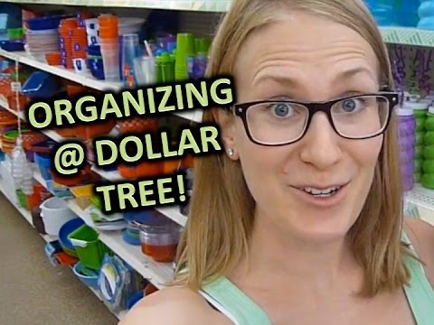 products - Come shop at Dollar Tree with me! I show you my favorite organizing products AND how I used them in my home. Enjoy a day of shopping and spending just a few dollars toward a more organized...