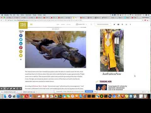 History:  The Igbo Slaves On Dunbar Creek