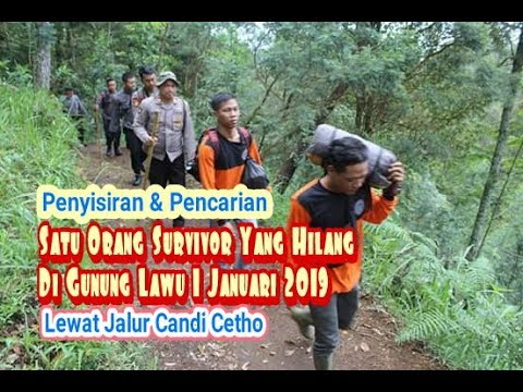 7 Hari Pencarian Di Lawu Basarnas Dan Potensi SAR  Belum Menemukan Pendaki Yang Hilang
