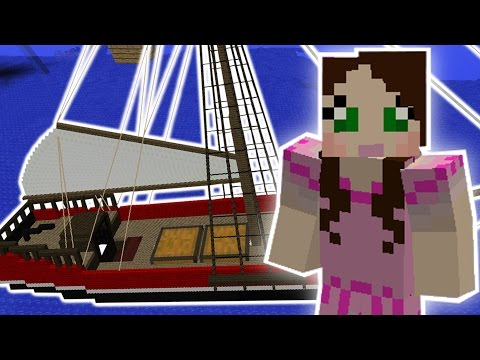 Minecraft: AMAZING SHIP MISSION – Custom Mod Challenge [S8E20]