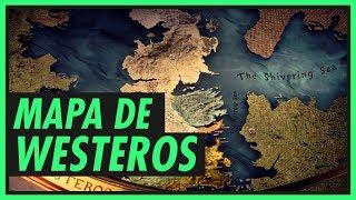 Entenda o mapa de WESTEROS  GAME OF THRONES