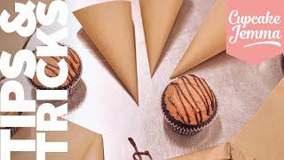 DIY Piping Bag | Bake with Sally | Cupcake Jemma by Cupcake Jemma