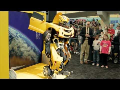 transforms - A new Bumblebee Transformers experience made its debut at The Children's Museum of Indianapolis! Watch as an actor in a specially designed Bumblebee costume ...