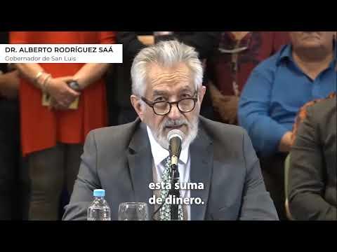 Alberto Rodríguez Saá rechazará los fondos federales que los diputados nacionales por San Luis consiguieron al dar quórum para el tratamiento del presupuesto nacional