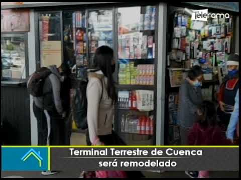 Terminal terrestre de Cuenca será remodelado