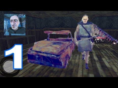 Grandpa - NEW UPDATE NEW rooms Grandpa CAR Garage - Walkthrough Gameplay Part 1 (iOS | Android)
