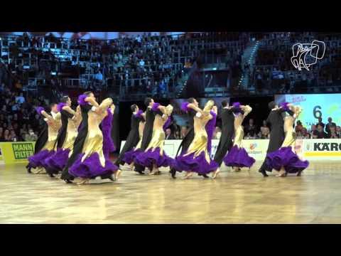 1 TC Ludwigsburg, GER | 2015 World Formation STD | DanceSport Total