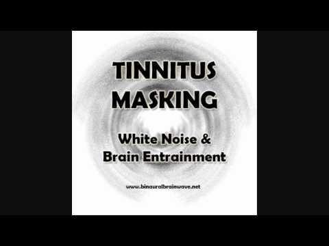 Tinnitus Masking (30 Mins) – White Noise & Brain Entrainment Tinnitus relief