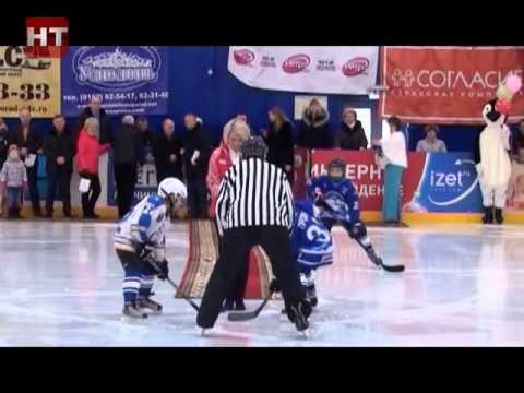 На ледовой арене «Айсберг» товарищеский матч сыграли хоккейные команды  мальчиков  2007 года рождения