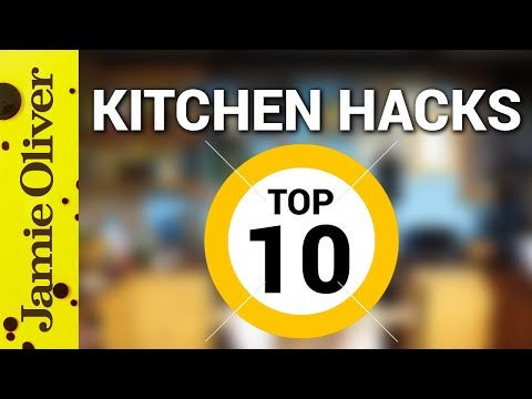 10 Food Tricks & Tips | Jamie Oliver | Kitchen Hacks