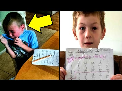 Teacher Writes The Worst Insult On Boy's Homework, Has No Idea Who Dad Is