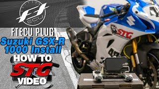 2. 2017-2019 GSX-R1000 ABS Delete & Flashtune ABS Plug Install | Sportbike Track Gear